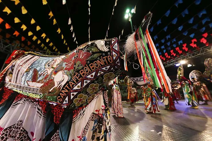 Festa Junina de São Luís - Boi de Santa Fé (Foto: Roberto Castro/Mtur)