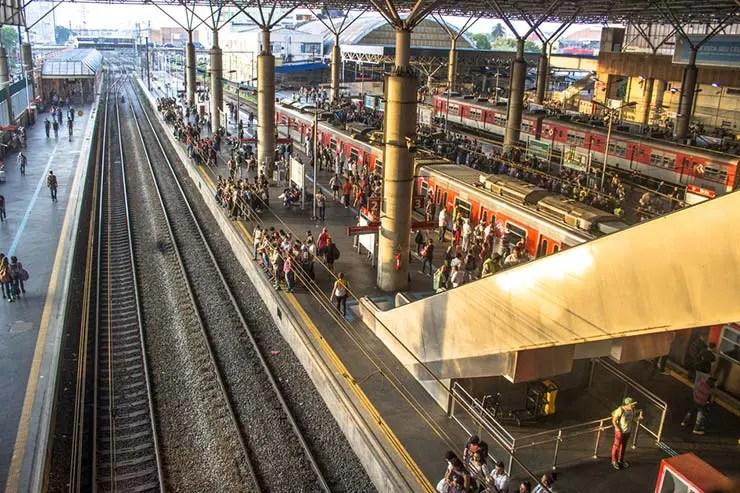 Como chegar ao Brás de metrô e trem (Foto via Shutterstock)