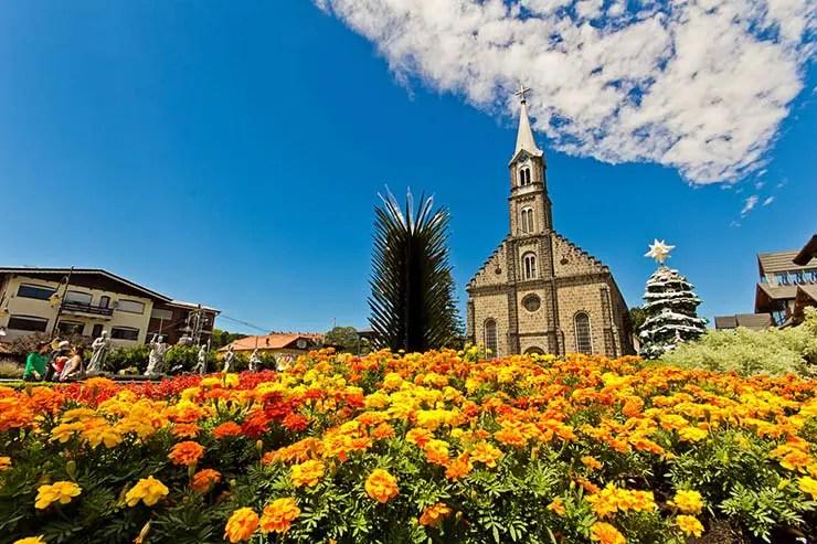 Quando ir pra Gramado e Canela: Igreja de São Pedro (Foto via Shutterstock)