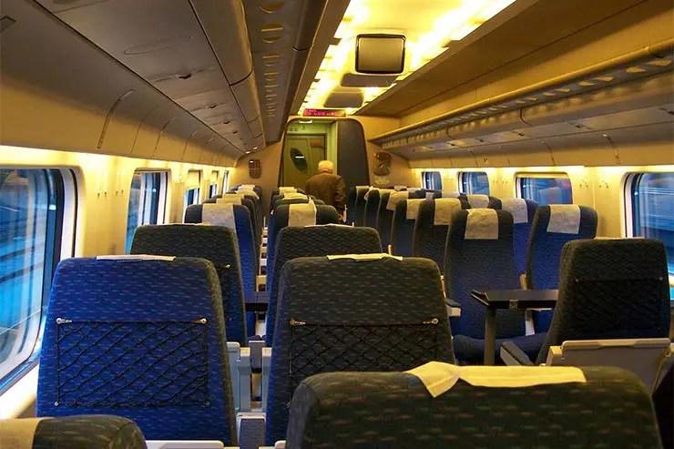 Viajar de trem em Portugal: Alfa Pendular (Foto: Jcornelius CC-BY-SA-3.0)