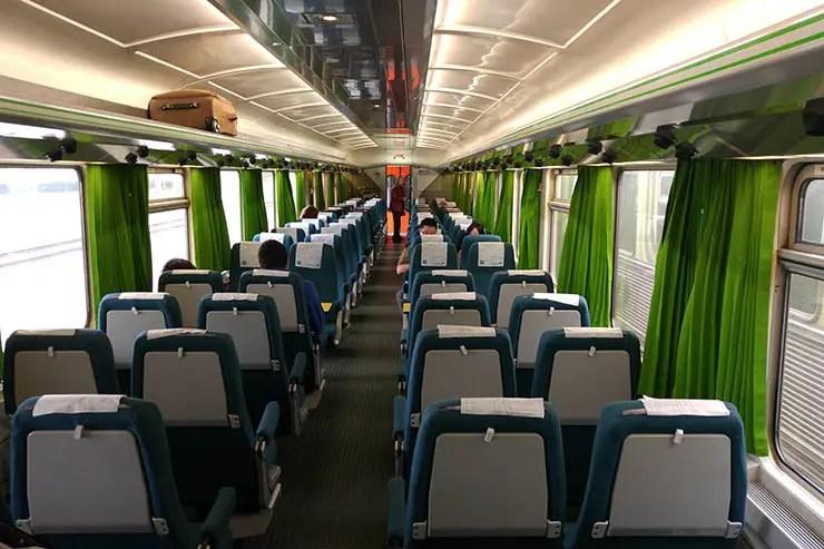 Viajar de trem em Portugal: Intercidades (Foto: Esse Mundo É Nosso)