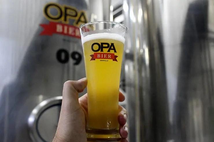 O que fazer em Joinville - Opa Bier (Foto: Esse Mundo É Nosso)