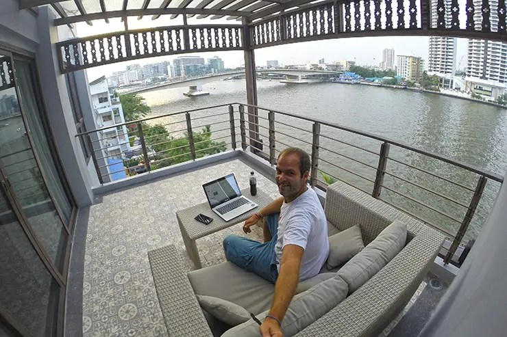 Vida de blogueiro (Foto: Esse Mundo é Nosso)