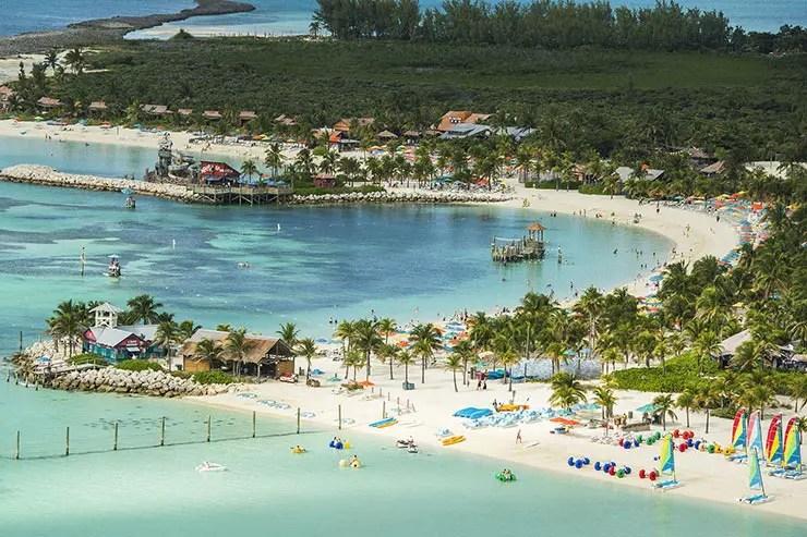 Castaway Cay: a ilha particular da Disney no Caribe (Foto: Divulgação/DCL)