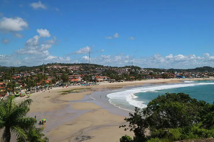 Vista da Praia de Gaibu, Cabo de Santo Agostinho (Foto: Esse Mundo É Nosso)