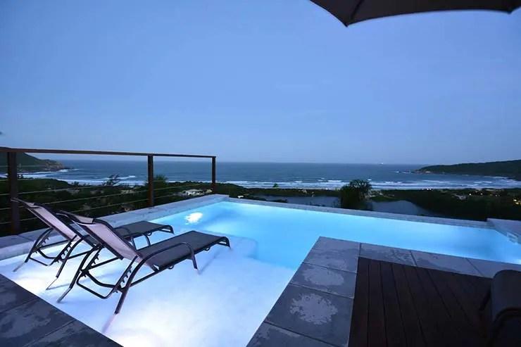 Dica de pousada na Praia do Rosa: Villa Gardena Suítes (Foto: Divulgação)
