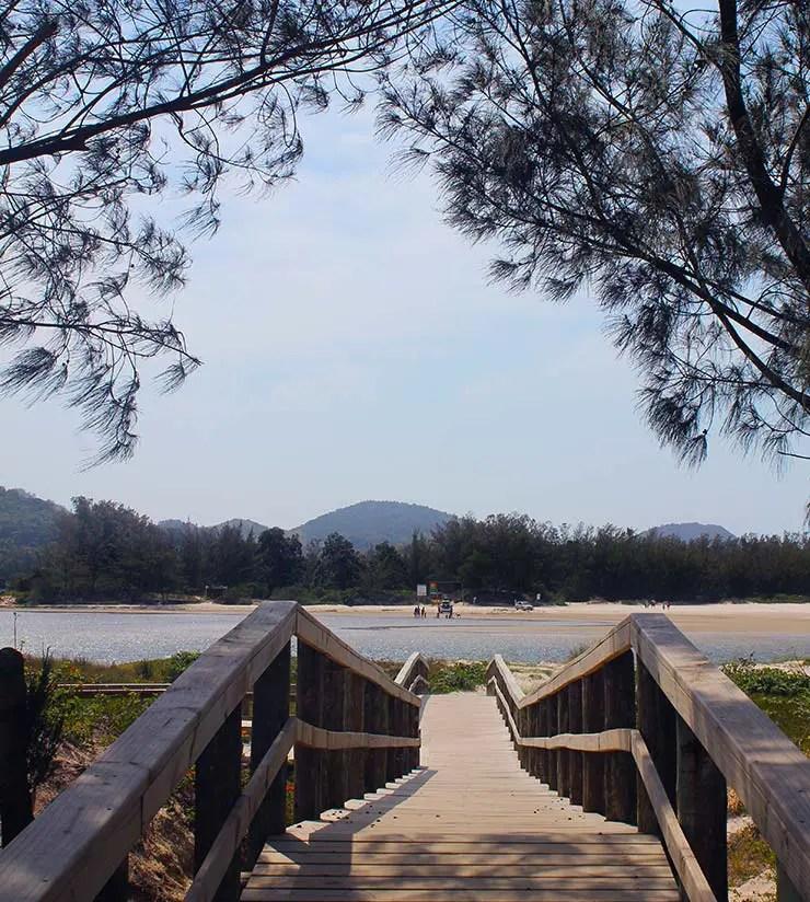 Barra de Ibiraquera, Santa Catarina (Foto: Esse Mundo É Nosso)