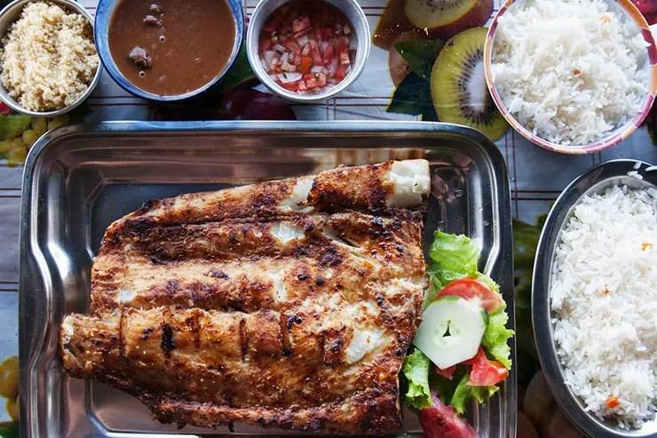 Culinária paraense - Pratos típicos do Pará: Filhote (Foto via Shutterstock)
