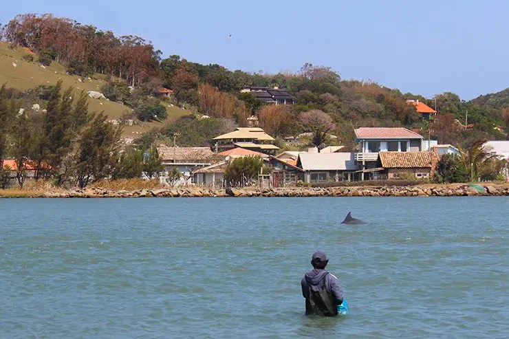 Rota da Baleia Franca: Ponta da Barra em Laguna (Foto: Esse Mundo É Nosso)