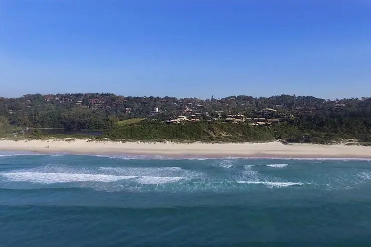 Rota da Baleia Franca: Praia do Rosa (Foto: Cortesia/Rodrigo Litman)