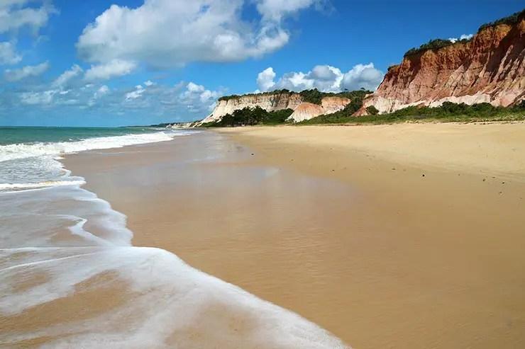 Praias de Arraial d'Ajuda: Praia de Taípe (Foto: Esse Mundo É Nosso)
