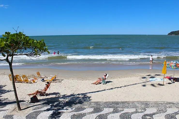 Praias de Balneário Camboriú: Praia Central (Foto: Esse Mundo É Nosso)
