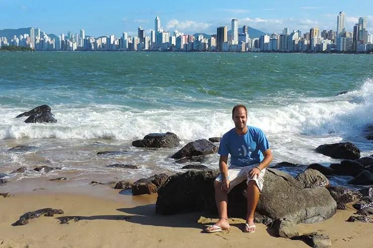Praias de Balneário Camboriú: Praia do Canto (Foto: Esse Mundo É Nosso)