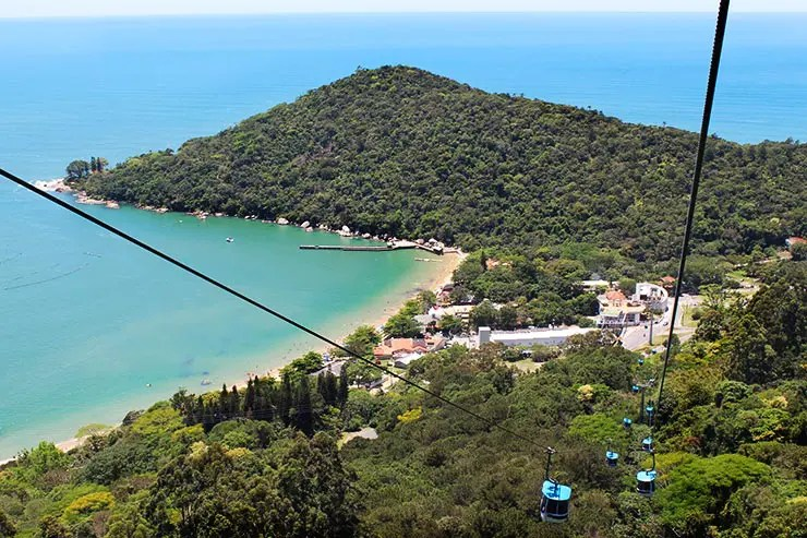 Praias de Balneário Camboriú: Praia de Laranjeiras (Foto: Esse Mundo É Nosso)