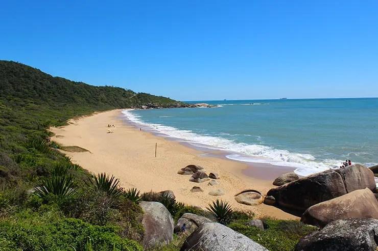Praias de Balneário Camboriú: Praia de Taquarinhas (Foto: Esse Mundo É Nosso)
