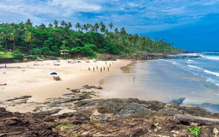 O que fazer em Itacaré - Praia da Tiririca (Foto via Shutterstock)
