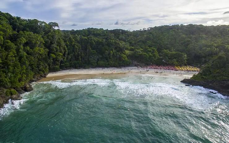 Melhores praias de Itacaré - Praia da Ribeira (Foto via Shutterstock)