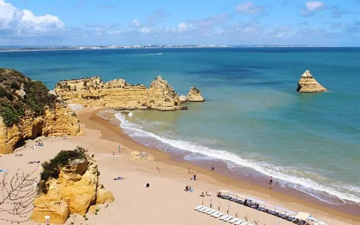 Roteiro no Algarve, Portugal - Praia Dona Ana em Lagos (Foto: Esse Mundo É Nosso)