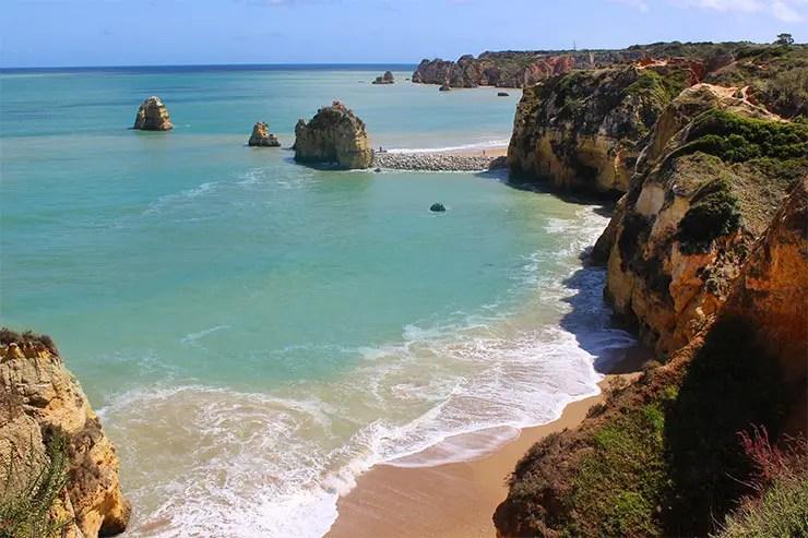 Dicas de Lagos, Portugal - Praia do Pinhão (Foto: Esse Mundo É Nosso)