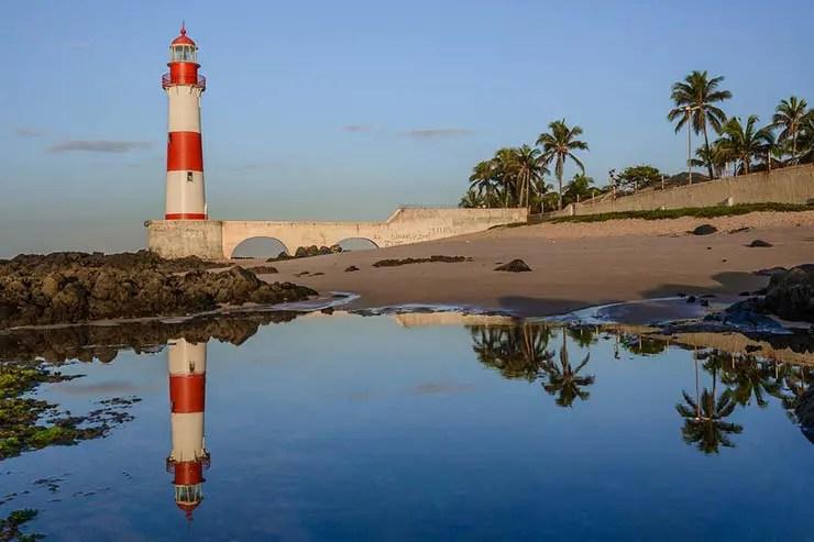O que fazer numa parada de navio em Salvador - Itapuã (Foto via Shutterstock)