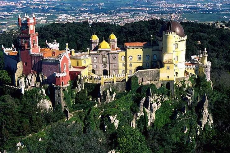 Cascais e Sintra em um dia - Palácio da Pena (Foto: Jose Manuel/Turismo de Portugal)