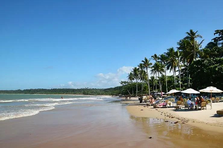 Quantos dias em Trancoso: Praia dos Coqueiros (Foto: Esse Mundo é Nosso)