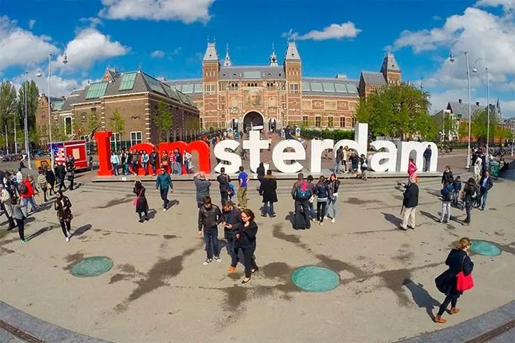 Quando ir pra Amsterdam (Foto: Esse Mundo é Nosso)
