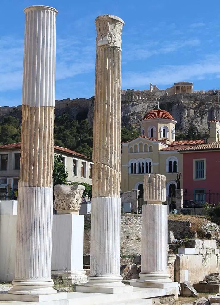 O que fazer em Atenas, Grécia - Monastiraki (Foto: Esse Mundo É Nosso)