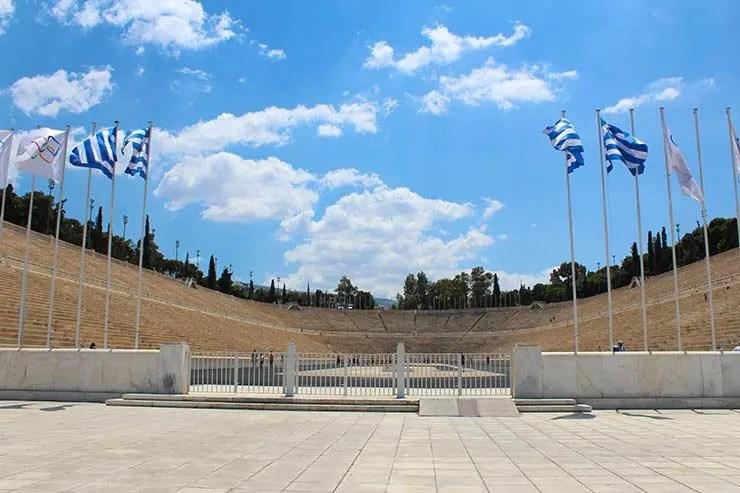 O que fazer em Atenas, Grécia - Estádio Panatenaico (Foto: Esse Mundo É Nosso)