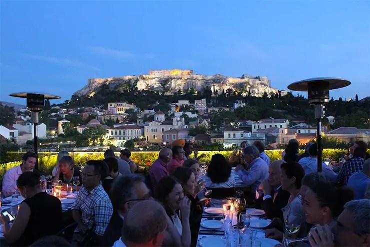 Rooftops em Atenas, Grécia - 360º (Foto: Esse Mundo É Nosso)