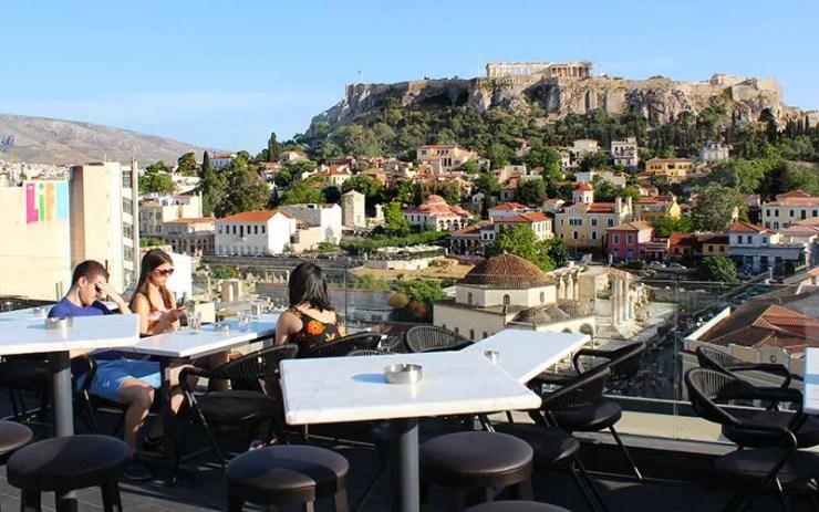 Rooftops em Atenas, Grécia - A For Athens (Foto: Esse Mundo É Nosso)
