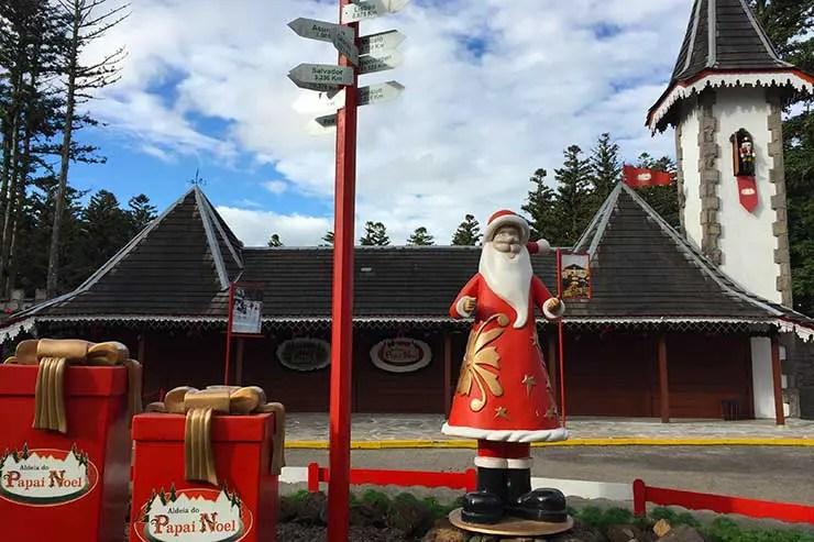Aldeia do Papai Noel (Foto: Esse Mundo é Nosso)