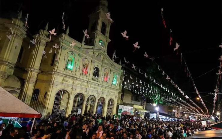 Como chegar à Festa da Achiropita em São Paulo (Foto: Divulgação)