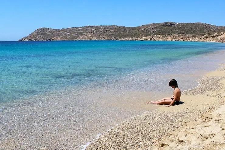 As melhores praias de Mykonos - Elia (Foto: Esse Mundo É Nosso)