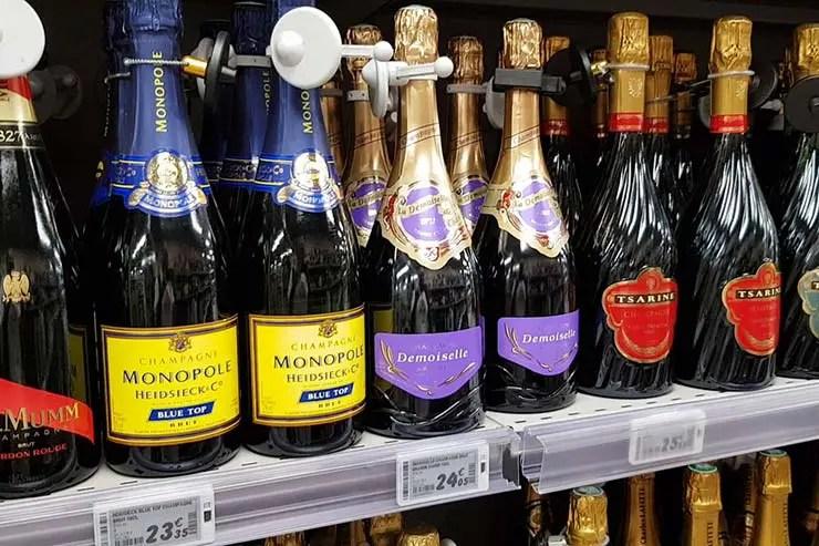 Supermercado em Paris: Quanto custam vinhos, queijos e mais (Foto: Esse Mundo É Nosso)