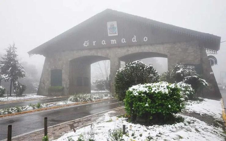 Como saber se vai nevar em Gramado e Canela (Foto: Reprodução/YouTube)