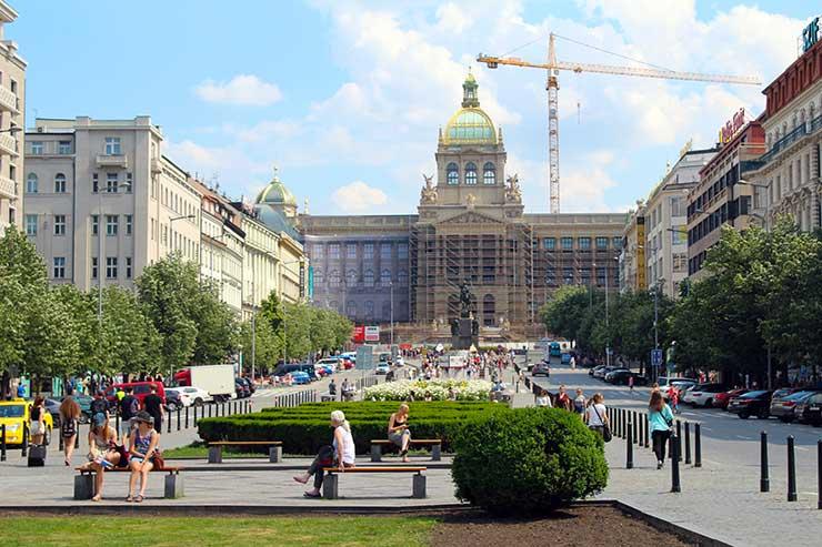 Praça Venceslau (Foto: Esse Mundo é Nosso)