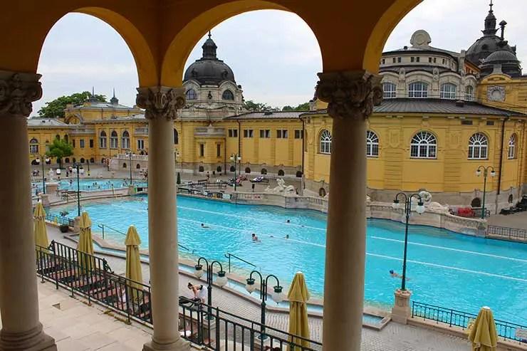Termas de Budapeste - Széchenyi (Foto: Esse Mundo é Nosso)