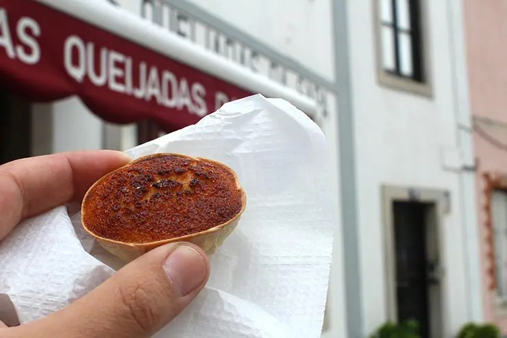 Doces portugueses - Queijada de Sintra (Foto: Esse Mundo É Nosso)