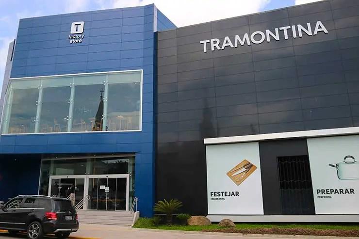 Loja da Tramontina na Serra Gaúcha (Foto: Esse Mundo é Nosso)
