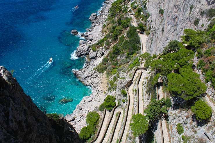 Capri, na Itália (Foto: Esse Mundo é Nosso)
