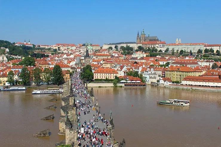 Vista de Praga: Onde ver a cidade do alto (Foto; Esse Mundo é Nosso)
