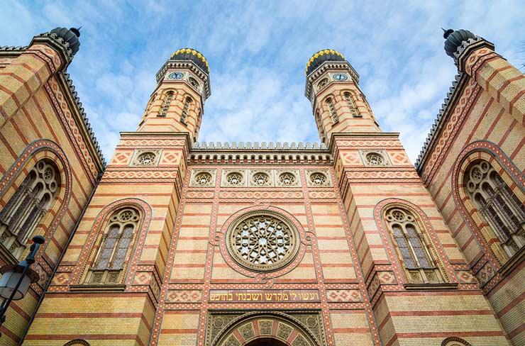 Bairro judeu de Budapeste (Foto via Shutterstock)