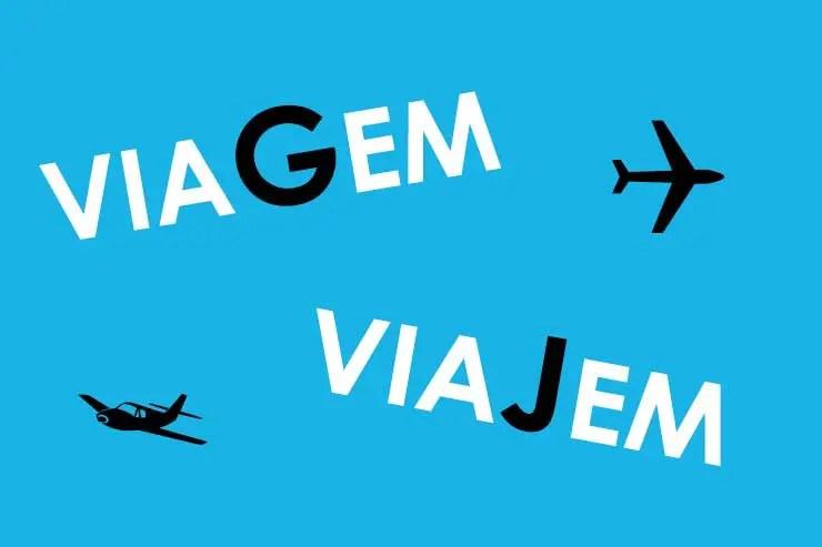 Viagem ou Viajem (Foto via Shutterstock)