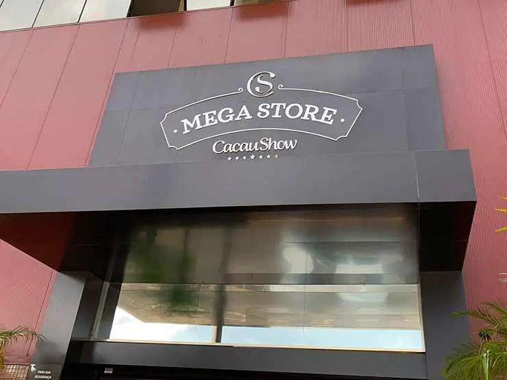 Mega Store da Cacau Show em SP (Foto: Esse Mundo é Nosso)