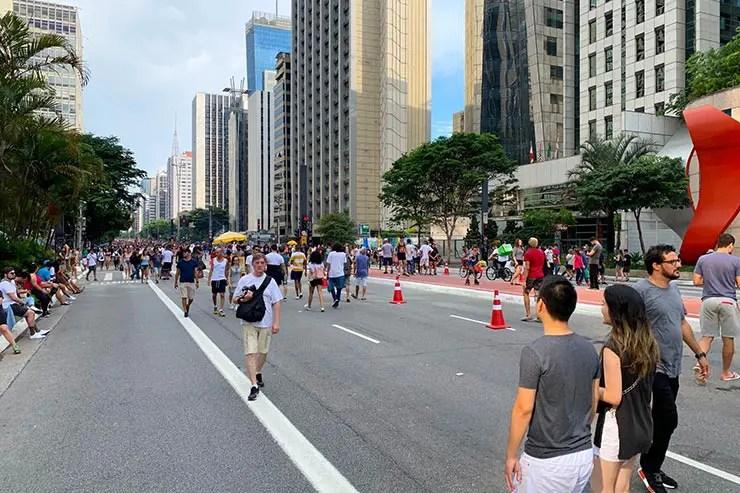 Paulista aberta aos domingos e feriados (Foto: Esse Mundo é Nosso)