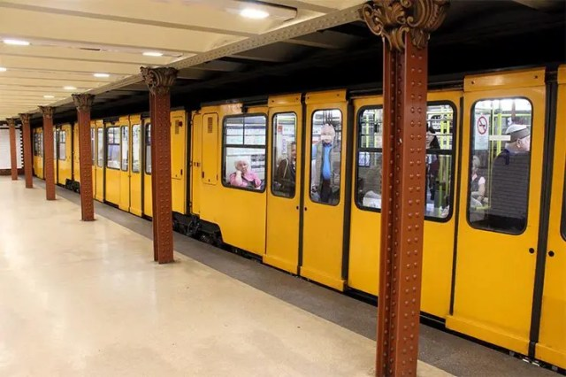 O metrô de Budapeste, Hungria: Um dos mais antigos do mundo