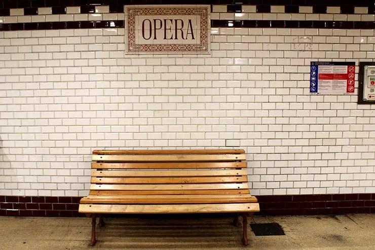 Metrô de Budapeste, Hungria (Foto: Esse Mundo É Nosso)