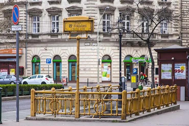 Metrô de Budapeste, Hungria (Foto via Shutterstock)