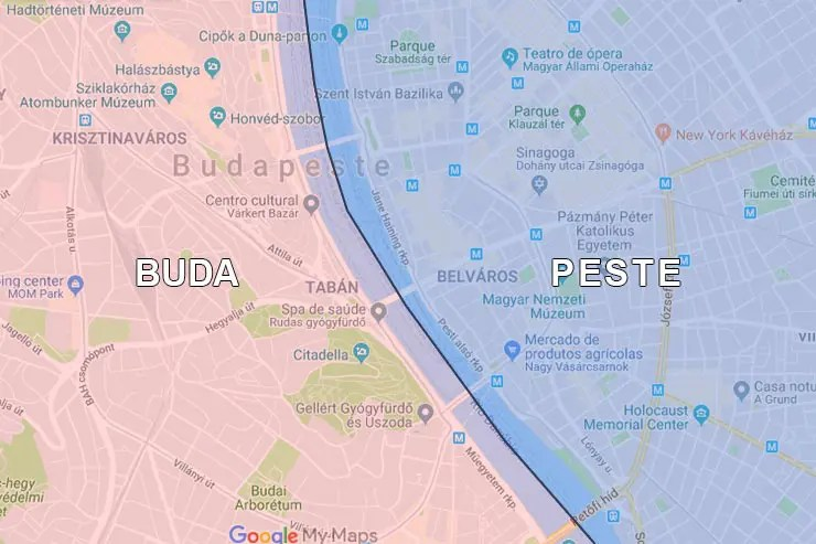 Onde ficar em Budapeste, Hungria (Arte: Esse Mundo É Nosso)